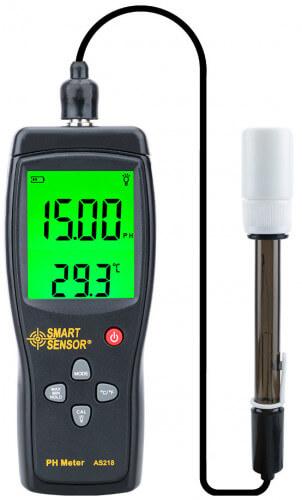 Digital pH Meter AS218 Smart Sensor